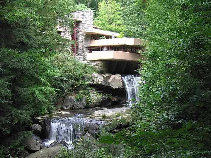 architectural design in context example fallingwater house