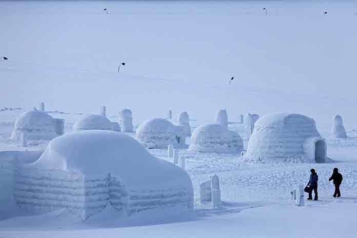 architectural design in context example igloo house