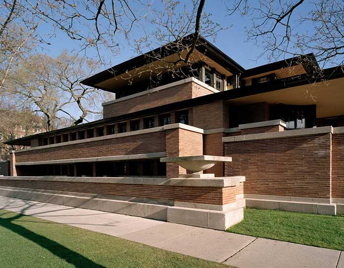 Frank Lloyd Wright Robie House design