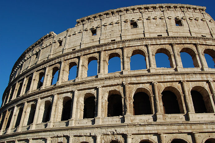 Colosseum and Greek orders