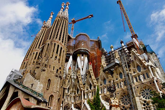 Unfinished Church of Barcelona