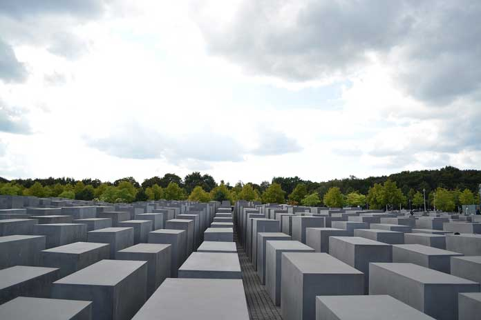 Memorial to the Murdered Jews of Europe located in Berlin