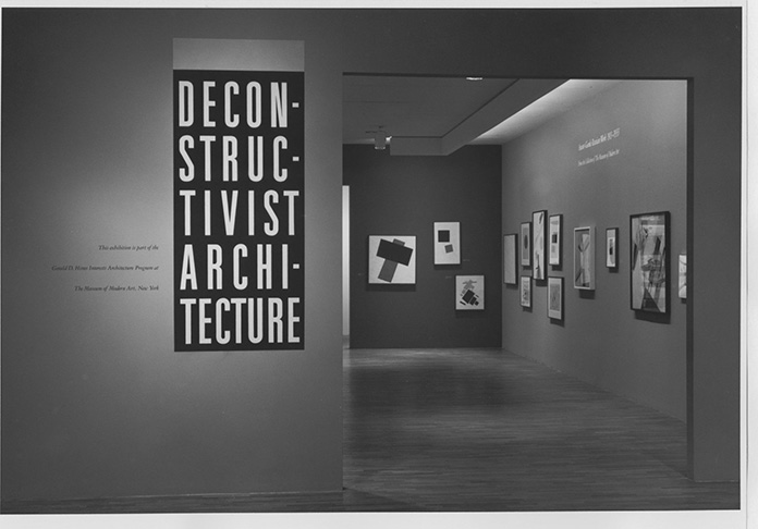 Deconstructivism Exhibition organised by MoMA in 1988
